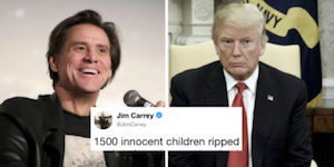 Carrey and Trump